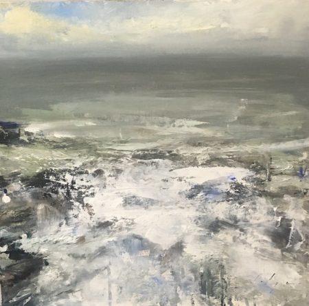 White Water, 8 x 8