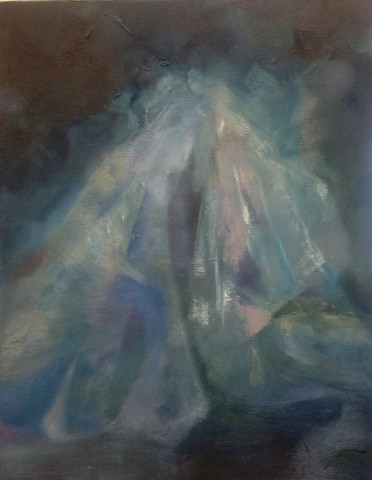 Veils (The Phantom Bride), 20x16